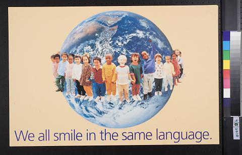 We all smile in the same language.