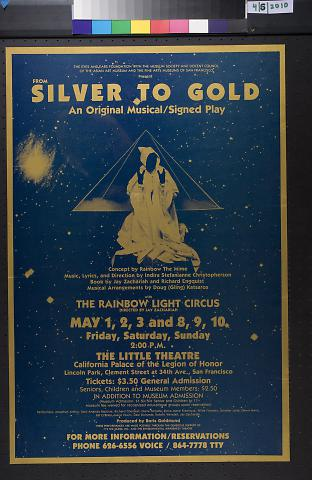 From Silver to Gold, an Original Musical / Signed Play