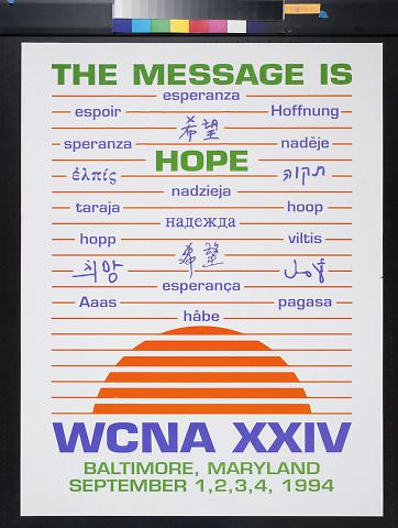 The Message is Hope