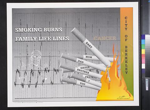 Smoking Burns Family Life Lines