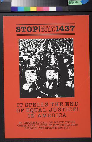 Stop! Senate Bill 1437