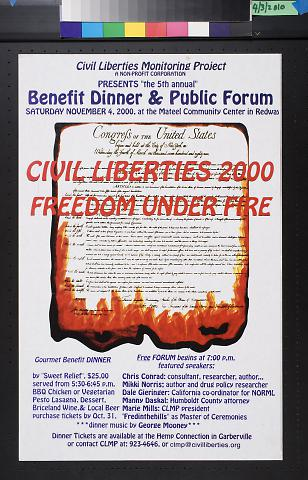 Civil Liberties 2000 Feedom Under Fire