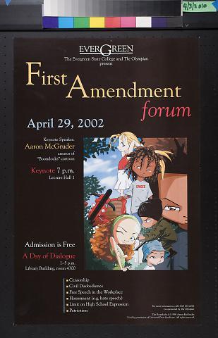Evergreen State College First Amendment Forum