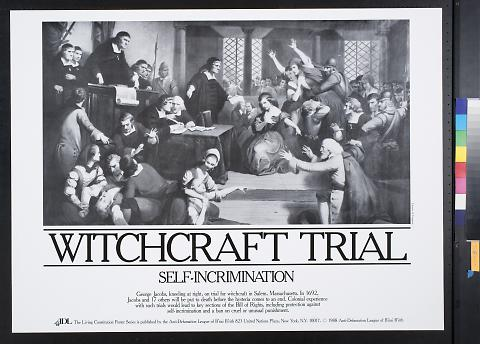 Witchcraft Trial: Self-incrimination