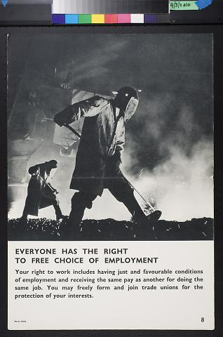 Everyone Has The Right To Free Choice Of Emplyment