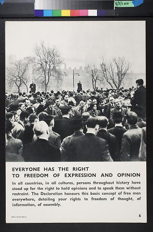 Everyone Has The Right To Freedom Of Expression And Opinion