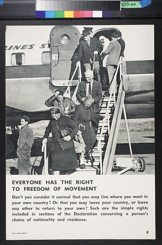 Everyone Has The Right To Freedom Of Movement