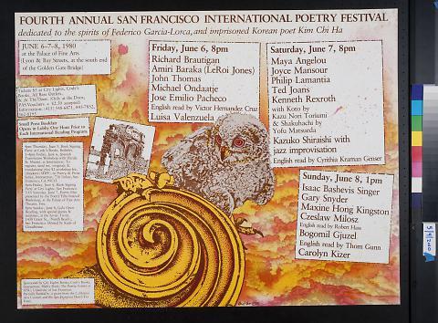 Fourth Annual San Francisco International Poetry Festival