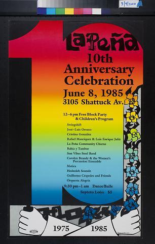La Pena 10th Anniversary Celebration
