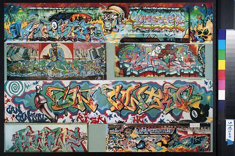untitled (graffiti walls)