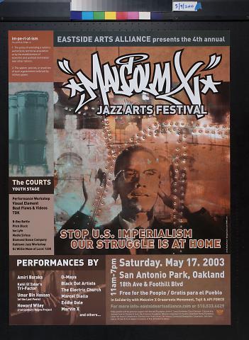 Macolm X Jazz Arts Festival
