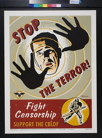 Stop the Terror! Fight Censorship