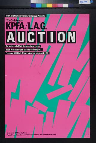 KPFA/L.A.G. Auction