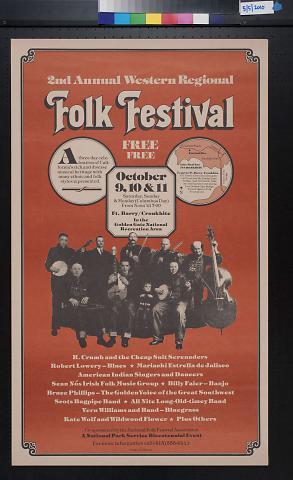 2nd Annual Western Regional Folk Festival