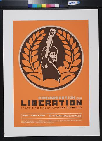 Communication for Liberation: Prints and Posters by Favianna Rodriguez