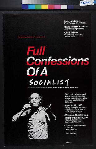 Full Confessions of a Socialist