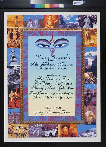 Wavy Gravy's 65th Birthday Celebration: A Benefit for Seva