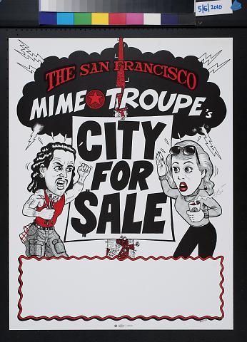 San Francisco Mime Troupe's City for Sale