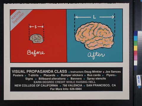 Visual propaganda class