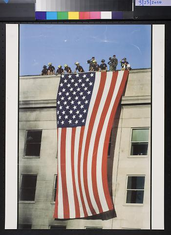 untitled (Fireman and Flag)