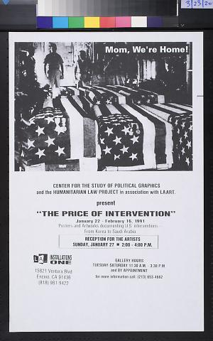"""The Price Of Intervention"""