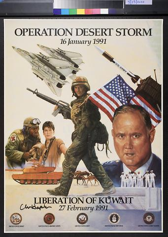Operation Desert Storm 16 January 1991