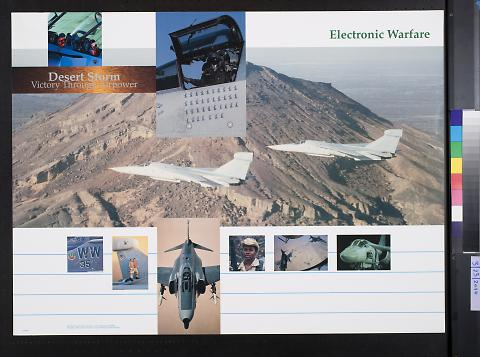 Desert Storm Victory Through Airpower: Electronic Warfare