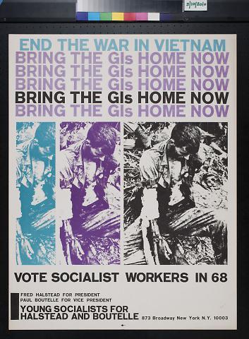 Vote Socialist Workers in 68