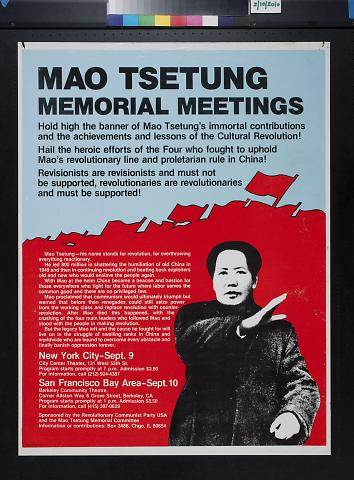 Mao Tsetung Memorial Meetings