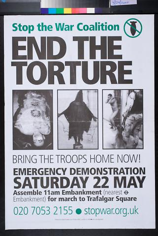 Stop the War Coalition: End the Torture