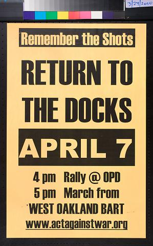 Remember the Shots : Return to the Docks