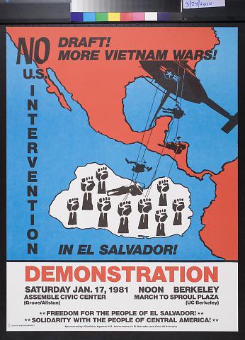 No U.S. Intervention In El Salvador