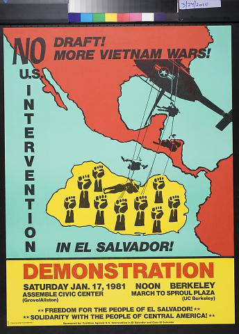 No U.S. Intervention In El Salvador