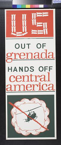 US Out Of Grenada:Hands Off Central America