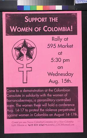 Support the Women of Colombia