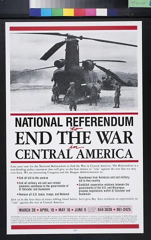 National Referendum to End The War in Central America