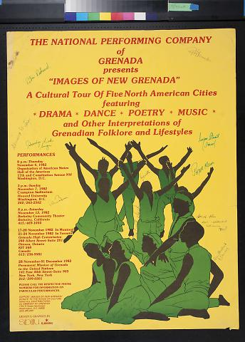"""The National Performing Company of Grenada presents """"Images Of New Grenada"""""""