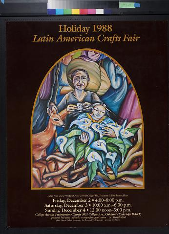 Holiday 1988 Latin American Crafts Fair