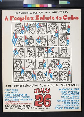 A people's Salute to Cuba