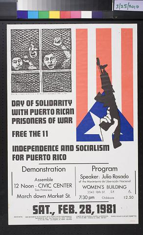 Independence And Socialism / For Puerto Rico