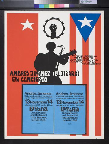 Andres Jimenez (El Jibaro) en concierto