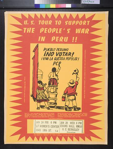 U.S. Tour To Support The People's War In Peru