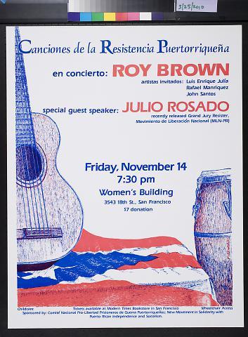 Canciones de la Resistencia Puertorriquena