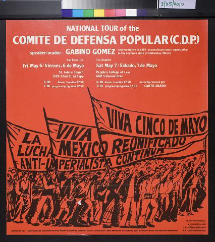 National Tour of the Comite De Defensa Popular