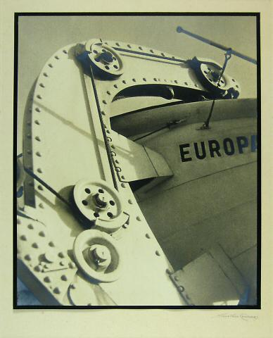 Detail of the Europa