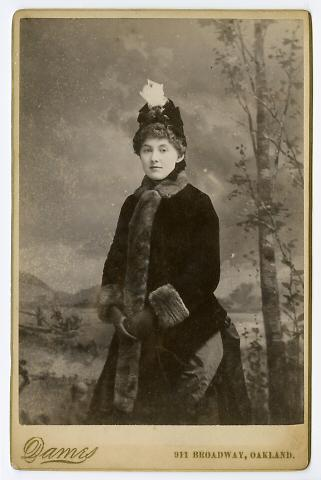 Untitled (Young Woman in Winter Dress)